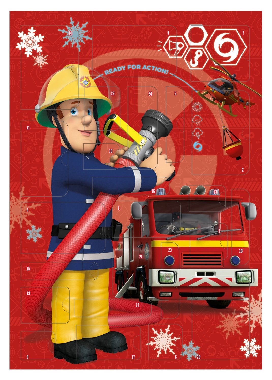Undercover FSBT8020 Fireman Sam Adventskalender, bunt