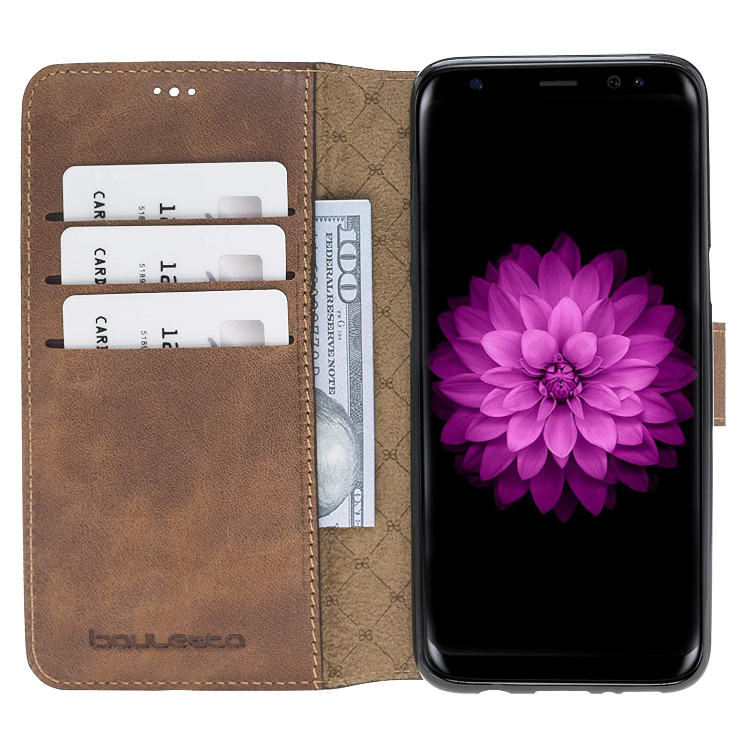 Best Cell Phone Insurance 2020 Amazon.com: Galaxy S8 Plus Cell Phone Case – Genuine Leather Case