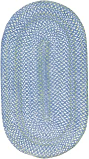 "product image for Capel Waterway Deep Blue Sea Kids Rug Rug Size: Oval 11'4"" x 14'4"""