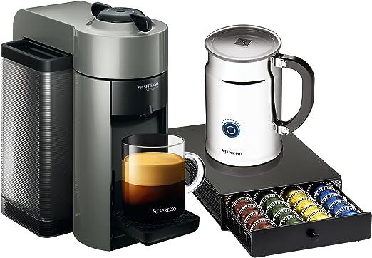 Nespresso A+GCC1-US-RE-NE VertuoLine Evoluo - Cafetera y cafetera ...