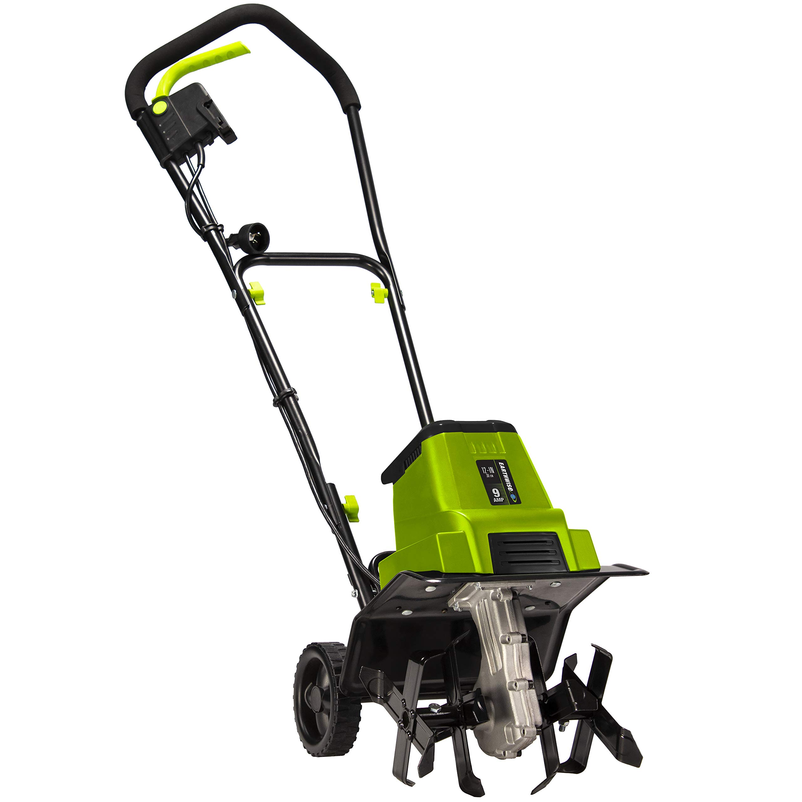 Earthwise TC70090 9-Amp 12-Inch Corded Tiller/Cultivator, Green by Earthwise