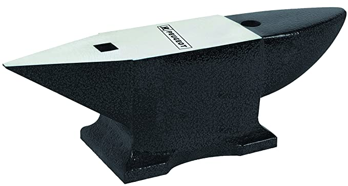 Peugeot ENERGYHit-1000 100810 Enclume en métal graphite sphéroïdale Longueur 340 mm 10 Kg