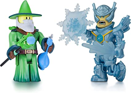 Roblox Figure 2-Pack, Emerald Dragon Master and Frost Guard General