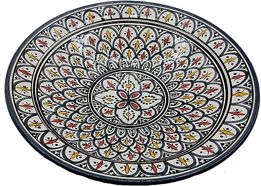 Etnico 0506191240 - Plato de Centro de Mesa de cerámica para Pared ...