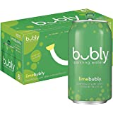Bubly Sparkling Water, Lime, 12 Fl Oz (pack of 8)