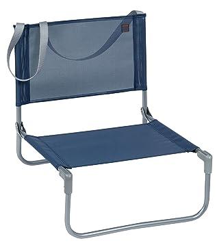 Attractive Lafuma CB Mesh Beach And Concert Chair U2013 Steel Frame Compact Folding Low  Chair   Ocean