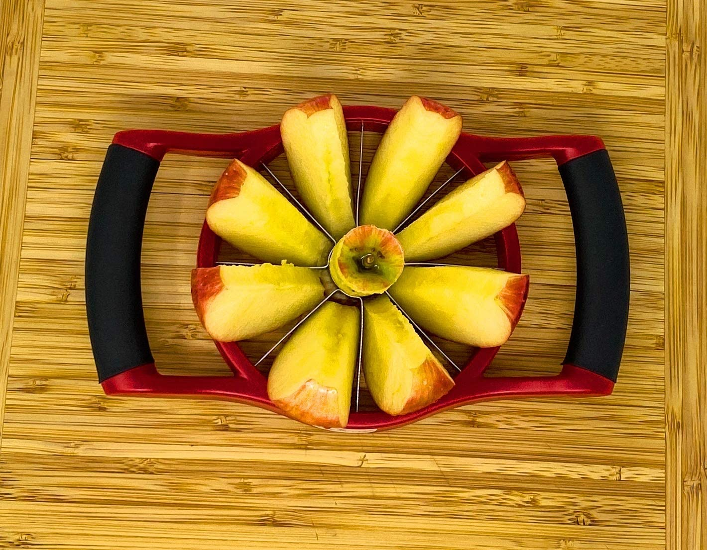 Corer and Divider | 3.5 Diameter West Ox Apple Slicer Upgraded For Small /& Medium Size Apples