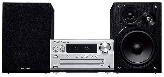パナソニック ミニコンポ FM/AM 2バンド Bluetooth対応 ハイレゾ音源対応 シルバー SC-PMX90-S