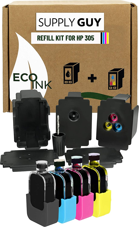 Supplyguy Nachfülltinte Kompatibel Mit Hp 305 Xl Elektronik