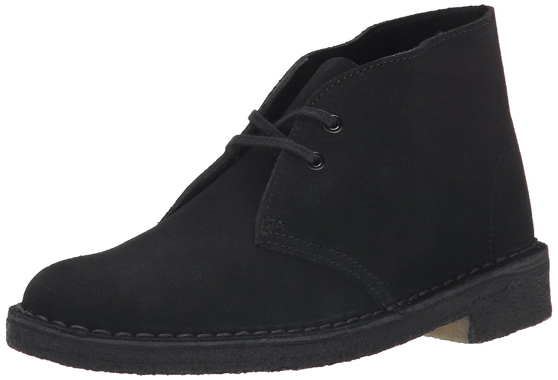 CLARKS Women's Desert Boot B00SWLR4YO 7.5 B(M) US Black