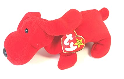 cec597d2fd7 Amazon.com  Beanie Baby - Rover the Red Dog (May 5