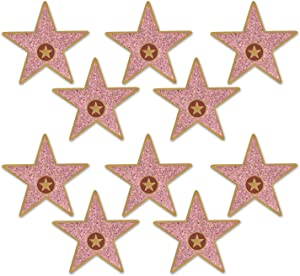 """Beistle 58048 Mini""""Star"""" Cutouts, 5"""", Multicolor"""