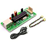 Silicon TechnoLabs ATMEL 8051 AVR USB ISP Programmer Support AT89S51,AT89S52,AT89Sxx,ATMEL ATmega ,ATtiny Microcontrollers
