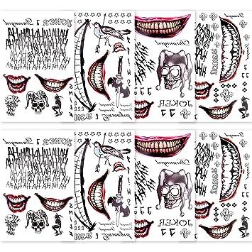 Suicide Squad Joker Tattoo Kit Costume Accessory