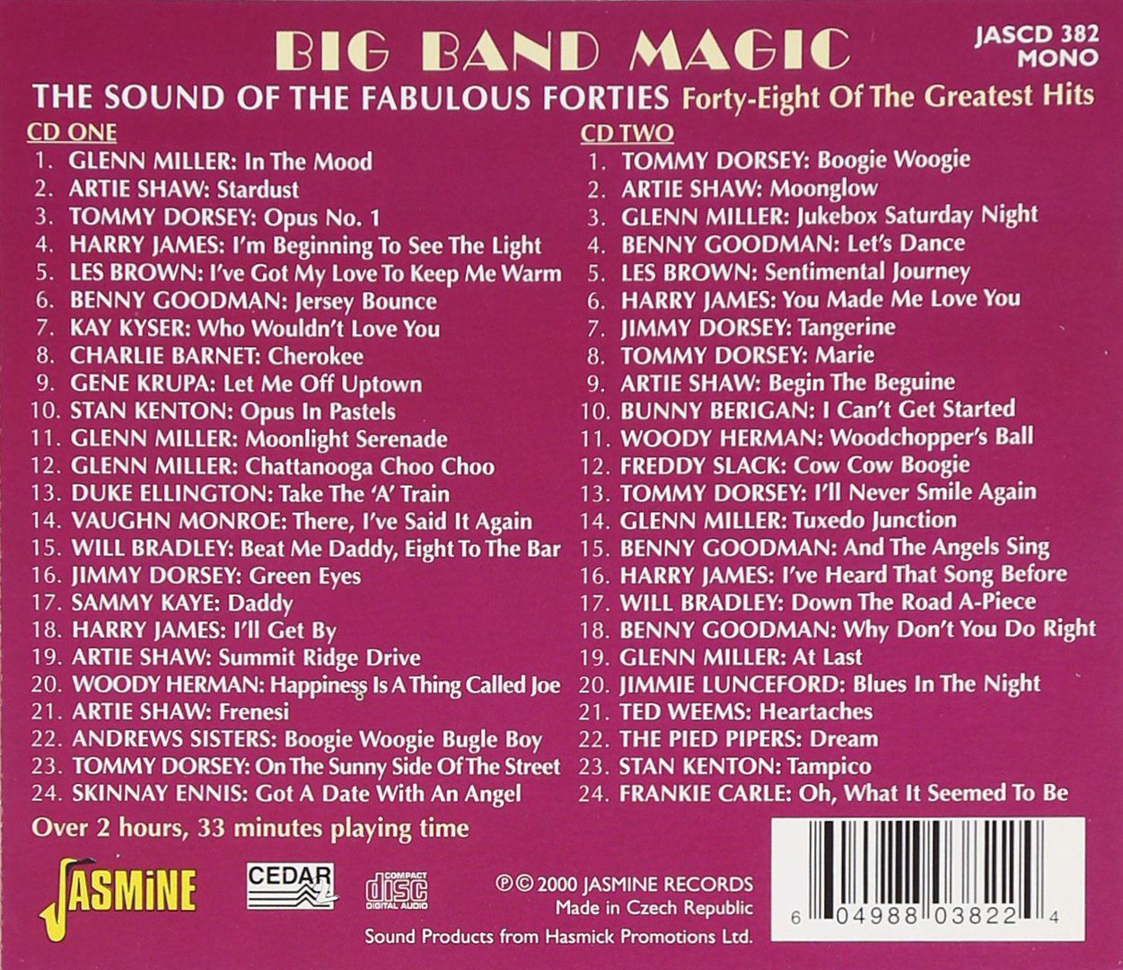 Big Band Magic: The Sound of the Fabulous Forties [ORIGINAL RECORDINGS REMASTERED] by Unknown