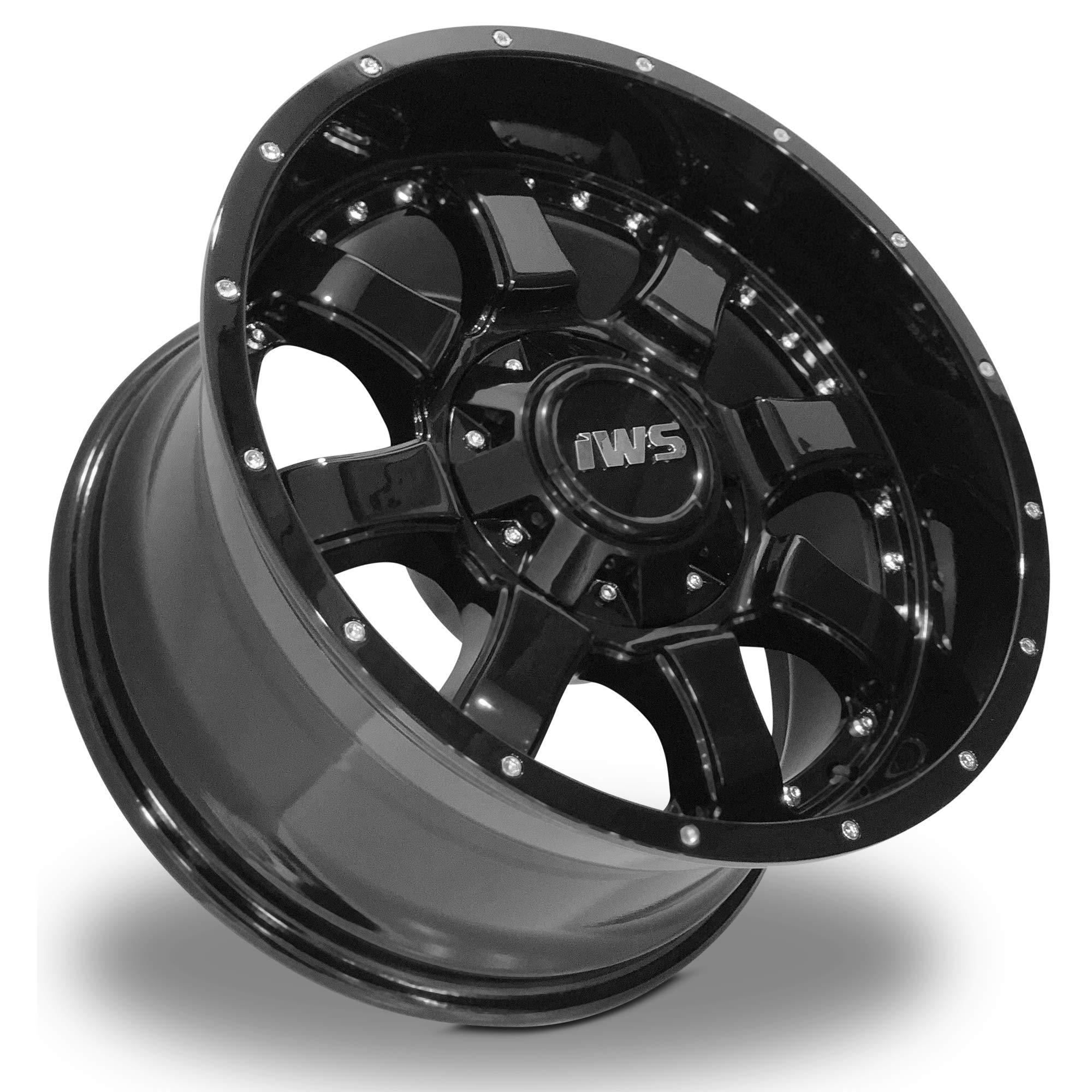 IWS 17x9 Series 5005 6x135 6X139.7-12mm Painted Black Wheel/Rim