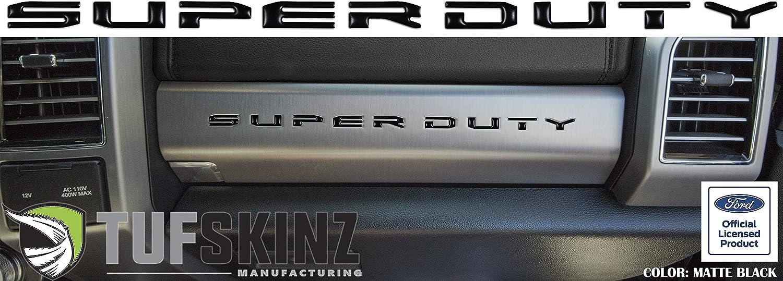 10 Piece Kit TufSkinz Super Duty Glove Box Letter Inserts Fits 2017-Up Ford Super Duty Caribou