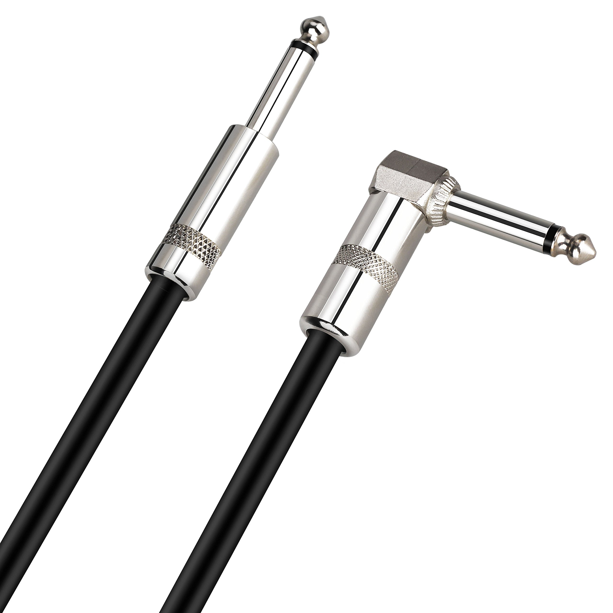 Mugig Professional Instrument Lead Cable 16ft( 5m) 1/4\