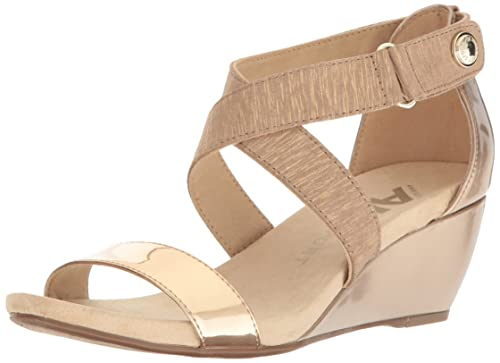 41885c6a162d Anne Klein AK Sport Women s Crisscross Fabric  Amazon.ca  Shoes ...