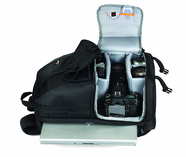 Amazon.com : Lowepro Fastpack 250 DSLR Camera Backpack ...