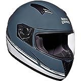 Royal Enfield Gloss Grey Full Face Helmet Size (L)60 CM (RRGHEI000102)