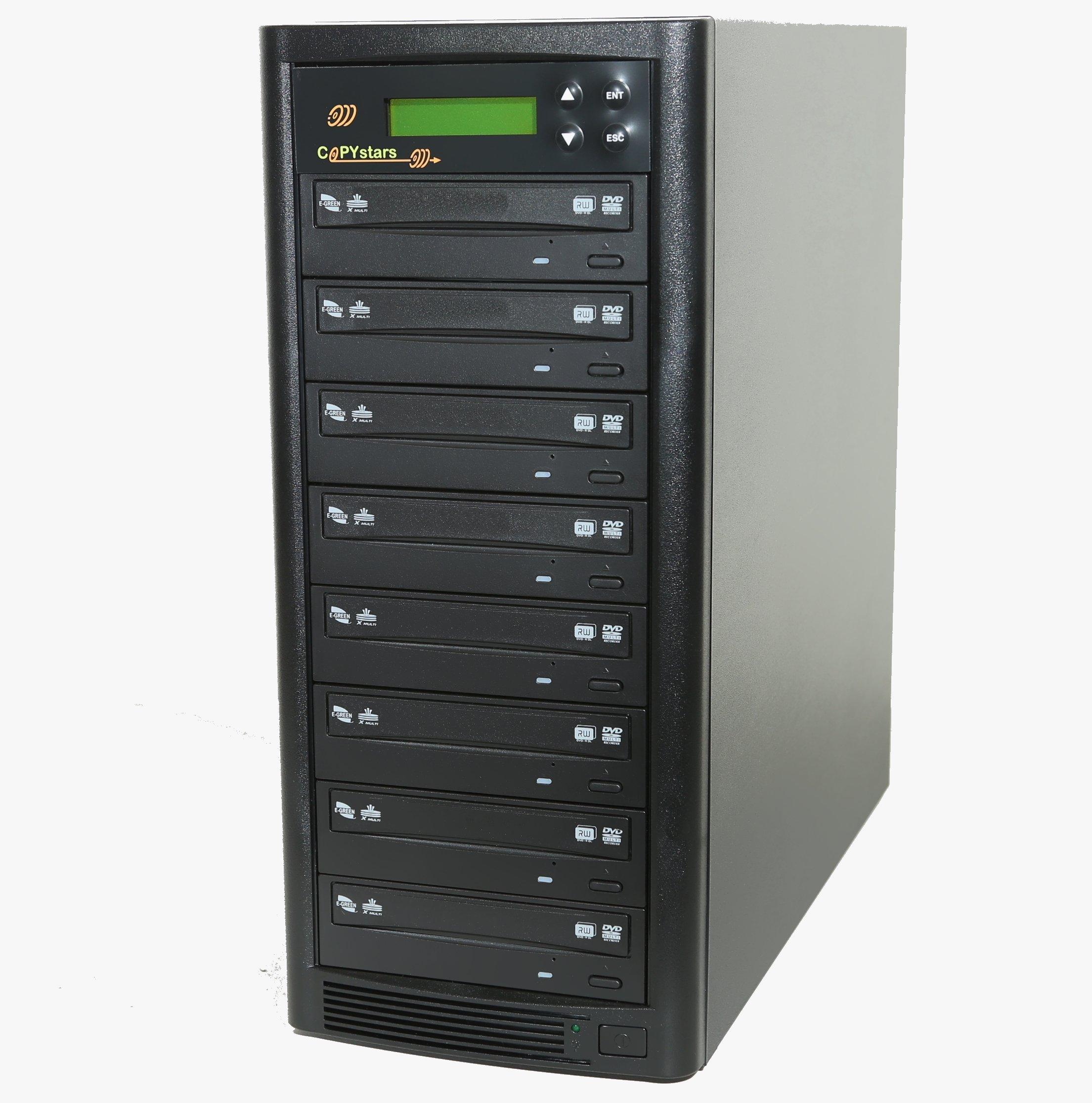 DVD Duplicator built-in Pioneer 22X Burner (1 to 7)