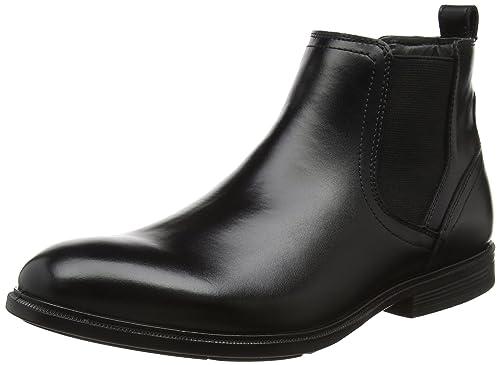 Hush Puppies Deacon Mainstreet, Botines para Hombre, Negro (Black), 40 EU: Amazon.es: Zapatos y complementos