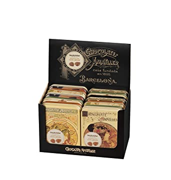 Chocolate Amatller Chocolate con Leche - 60 Unidades