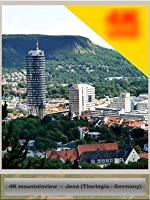 Mountainview over german city Jena