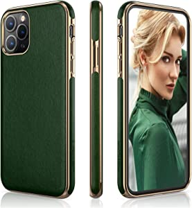 LOHASIC for iPhone 11 Pro Case, PU Leather Slim Luxury Elegant High-end Cover Soft Flexible Anti-Slip Scratch Resistant Protective Phone Cases Compatible with iPhone 11 Pro(2019) 5.8
