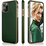LOHASIC iPhone 11 Pro Max Case, PU Leather Slim Luxury Business Cover Soft Anti-Slip Scratch Resistant Drop Proof Full Body P