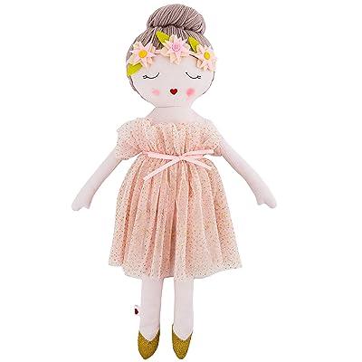 Hearts of Yarn Plush Madeleine Ballerina Doll