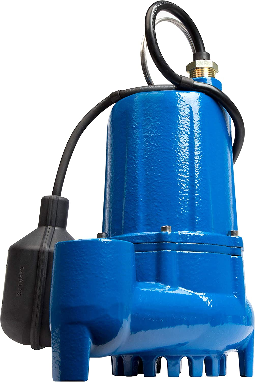 Little Giant LG-S50T 1/2 hp Cast Iron Sump Pump with Tethered Switch