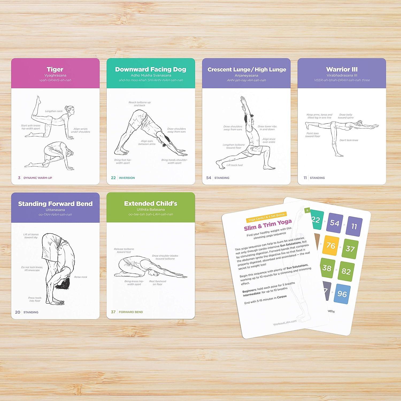 WorkoutLabs Yoga Cards I & II – Complete Set Professional Study ...