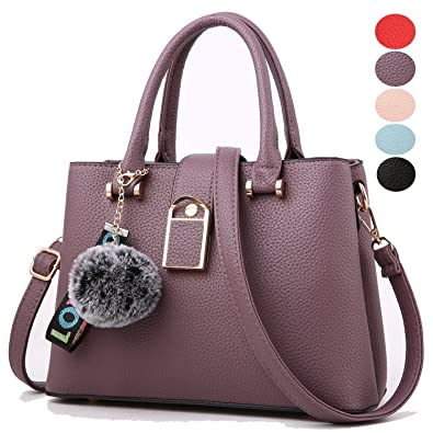 54202f6c7caf Amazon.com  Purses and Handbags for Women Designer Shoulder Bags Ladies  Tote Bags Top Handle Satchel Messenger Bags  Shoes