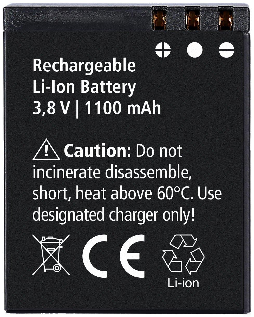 Rollei Actioncam 550 Touch - WiFi Action Cam mit 2 Touchdisplay und 4k Video Auflösung, ultra schnelle 0,5 Sekunden Fotointervallaufnahmen mit 160° Super-Weitwinkel-Objektiv,Videobildstabilisierung, Windgeräusche Reduktion, bis 40 m wasserdicht, inkl. Unte