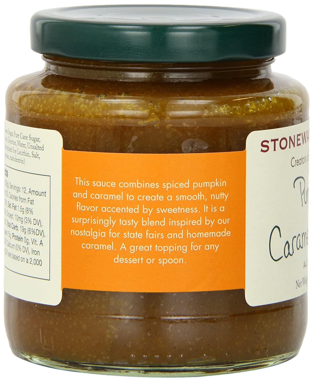 Amazon.com : Stonewall Kitchen Sauce, Pumpkin Caramel, 12.5 Ounce : Chocolate Syrup : Grocery & Gourmet Food