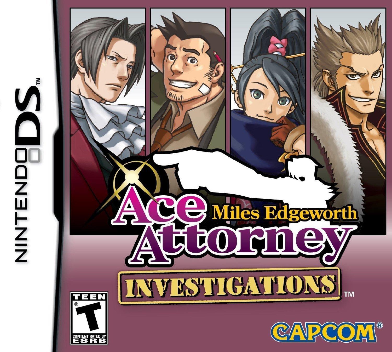 Amazon Com Ace Attorney Investigations Miles Edgeworth Video Games