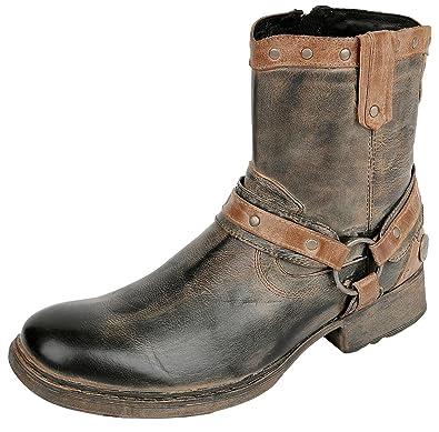 best website 0fb00 8b629 Rock Rebel by EMP Rusty Boot Boots braun: Amazon.de: Schuhe ...