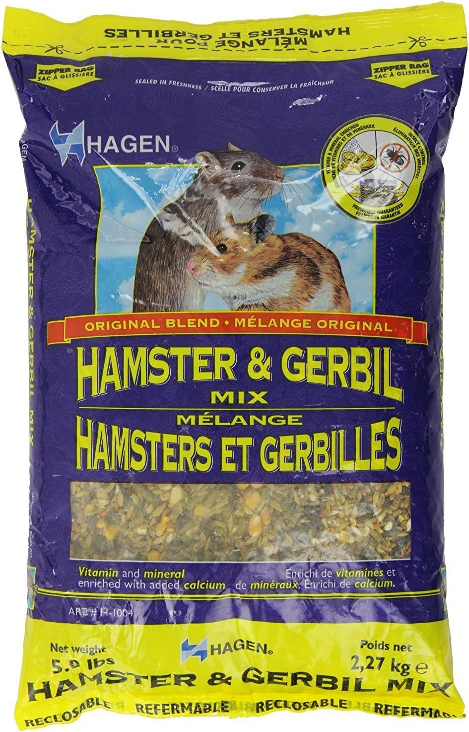 Hagen Hamster And Gerbil Staple Vme Diet, 5-Pound