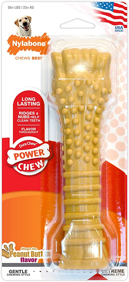 Nylabone Power Chew XL Dog Chew Toys for Aggressive Chewers