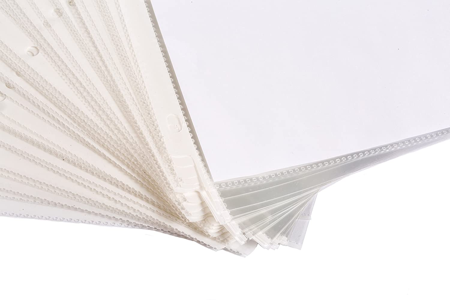 200 Heavyweight Sheet Protectors 200 Pack Reinforced 3 Hole Design with 3 MIL Thickness 9.25 x 11.25 Top Loaded Fits Standard 8.5 x 11 Paper