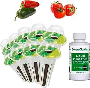 AeroGarden Salsa Garden Seed Pod Kit, 9