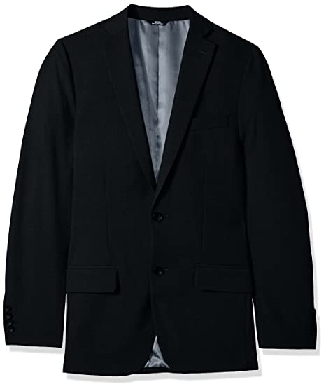 a25b0b3960f J.M. Haggar 4-Way Stretch Solid 2-Button Slim Fit Suit Separate Coat ...