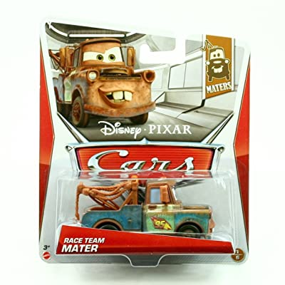 Cars Race Team Mater #1/6 Maters 2012 Disney / Pixar 1:55 Scale Vehicle: Toys & Games