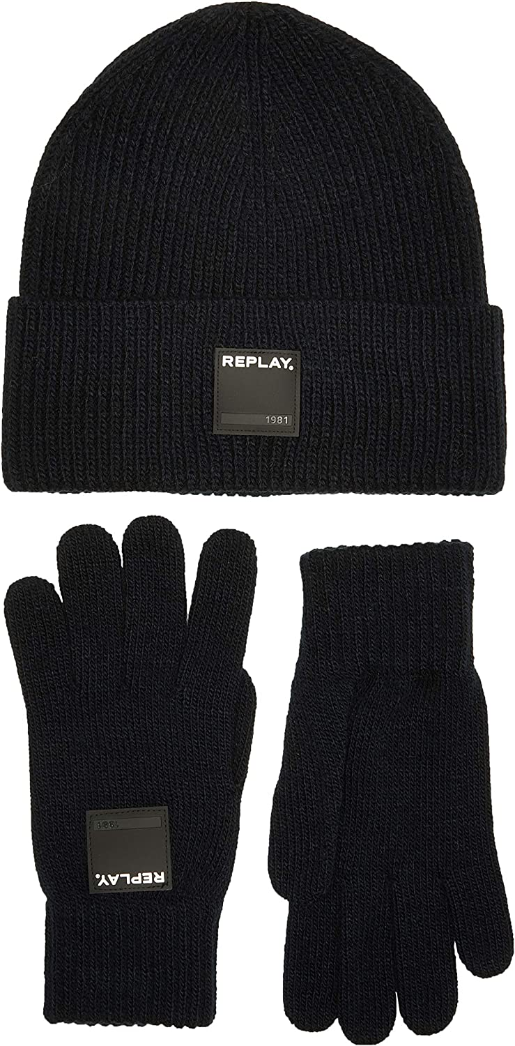 REPLAY Set di Accessori Invernali Uomo