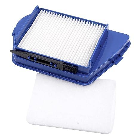 vhbw Set filtros aspiradora para Rowenta RO 3469014 Q0, RO 3486014 Q0 (Filtro Hepa