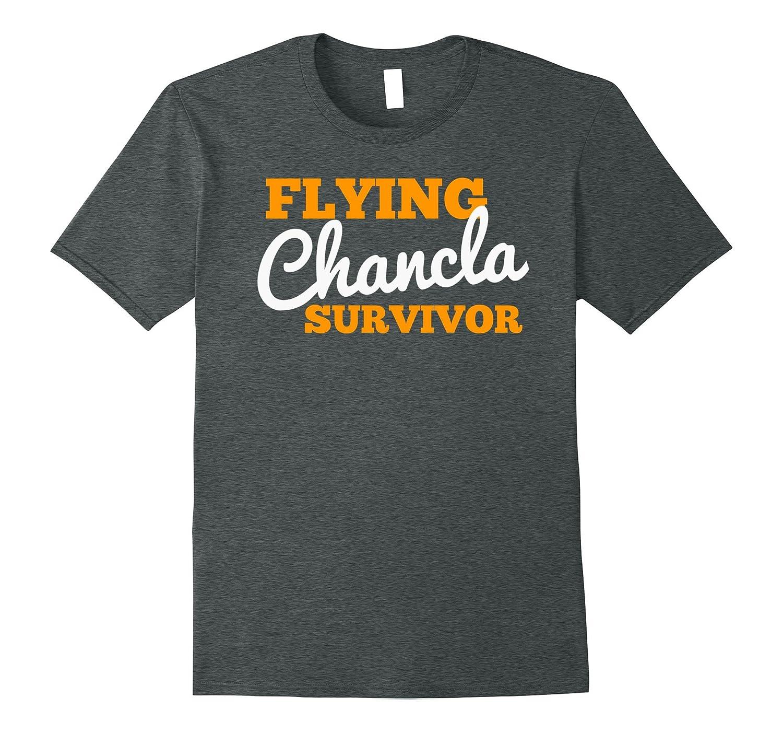 Mexican Themed Shirts  Flying Chancla Survivor Shirt