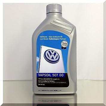 VAPSOIL 507 00 SAE 0W-30 Longlife 3 Volkswagen - Aceite de motor (1 L): Amazon.es: Coche y moto