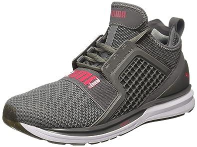 Puma Men s Ignite Limitless WeaveMen Quiet Shade White Running Shoes-10.5  UK India ( 4b5b3d86e619a